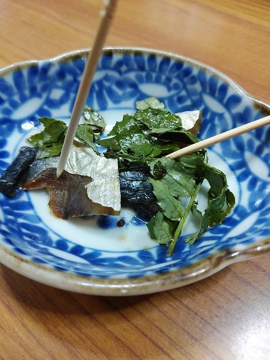 三井田さん作ったの身欠にしんの山椒漬