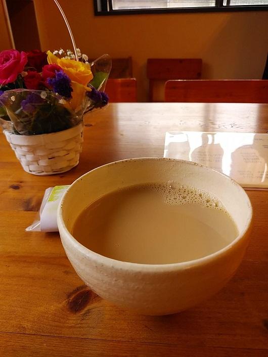 カフェオ豆乳