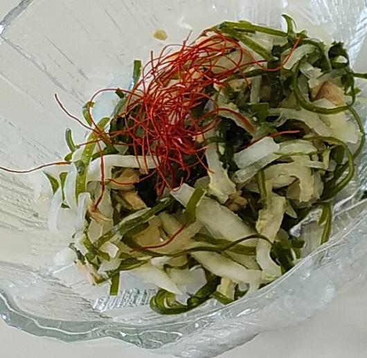 すき昆布サラダ